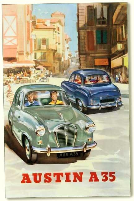 Austin A35 4 Door Saloon  As5  1956