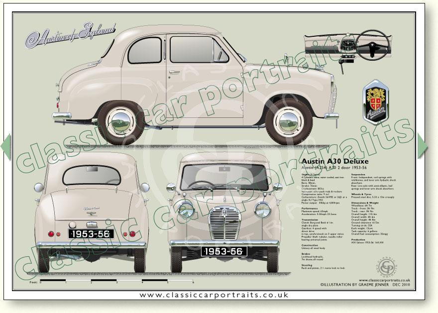 Austin A30 2 Door A2s4 1953 56