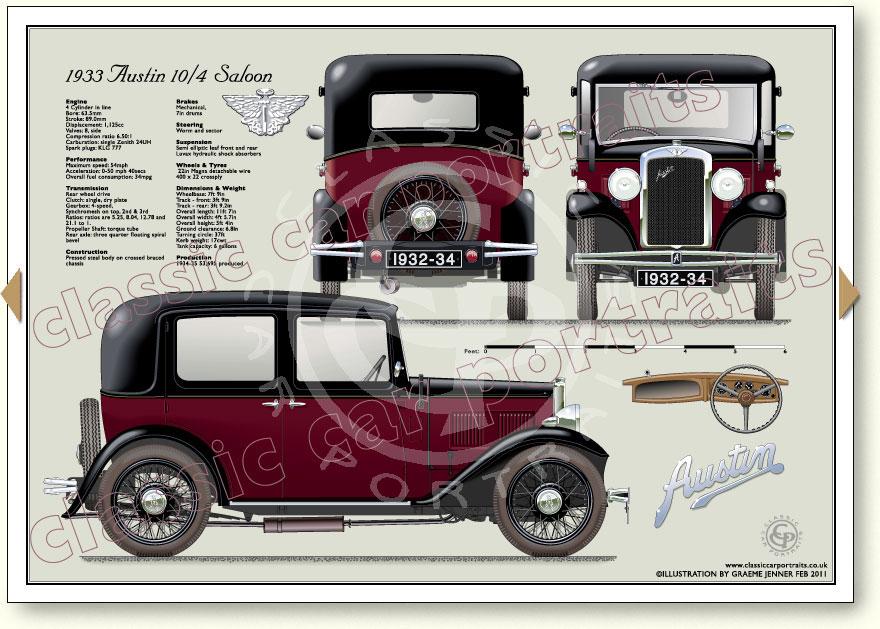 Austin 10  4 Saloon 1932