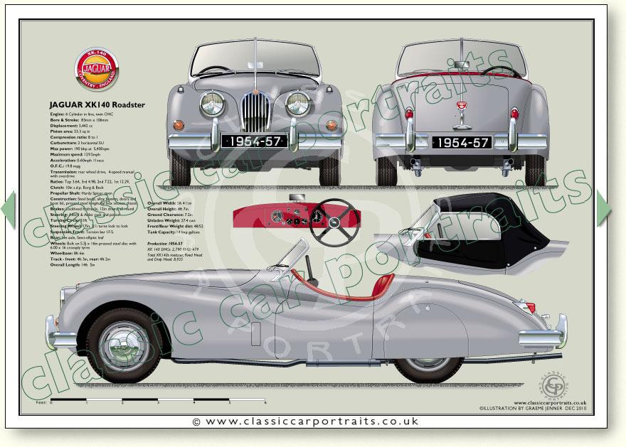 Page 039 Jaguar Xk140 Roadster 1954